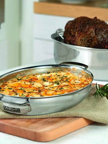 V Rack or Flat Rack - Which Roasting Pan is better?